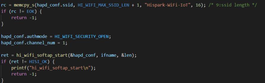 Hi3861 实现手机APP配网功能